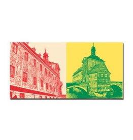 ART-DOMINO® by SABINE WELZ LEINWANDBILD - BAMBERG - 960402