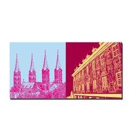 ART-DOMINO® by SABINE WELZ LEINWANDBILD - BAMBERG - 960406