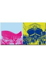 ART-DOMINO® by SABINE WELZ Barcelona - Goldfisch am Port Olympic + La Boqueria