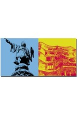 ART-DOMINO® by SABINE WELZ Barcelona - Columbus-Säule + Casa Milla