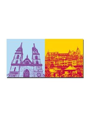 ART-DOMINO® by SABINE WELZ Basel - Münster + Barfüsserplatz