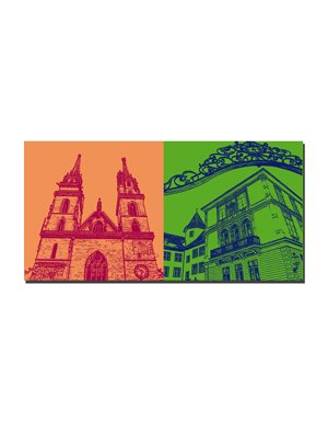 ART-DOMINO® by SABINE WELZ Basel - Münster + Domhof