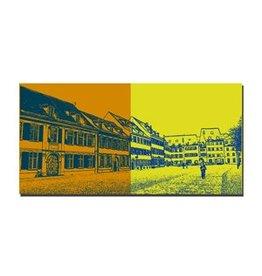 ART-DOMINO® by SABINE WELZ LEINWANDBILD - BASEL - 9415