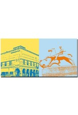 ART-DOMINO® by SABINE WELZ Basel - Kunstmuseum + Skulptur Leonhard Gymnasium