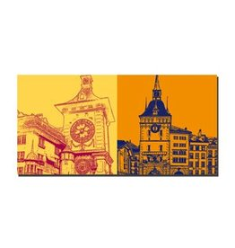 ART-DOMINO® by SABINE WELZ LEINWANDBILD BERN - 9103