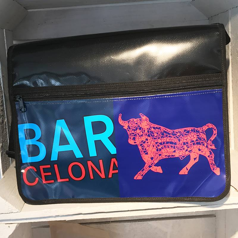 ART-DOMINO® by SABINE WELZ CITY-BAG Nr. 431: Barcelona