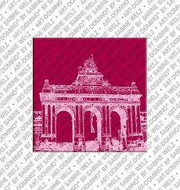 ART-DOMINO® by SABINE WELZ Magnet Brüssel - 03