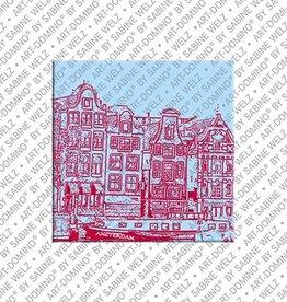 ART-DOMINO® by SABINE WELZ Magnet Amsterdam - 03