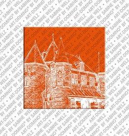 ART-DOMINO® by SABINE WELZ Magnet Amsterdam - 06