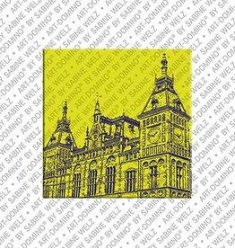 ART-DOMINO® by SABINE WELZ Magnet Amsterdam - 08