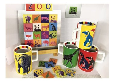 ANIMALS IN POP ART