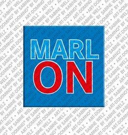 ART-DOMINO® by SABINE WELZ Magnet MARLON