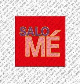 ART-DOMINO® by SABINE WELZ Magnet SALOMÉ