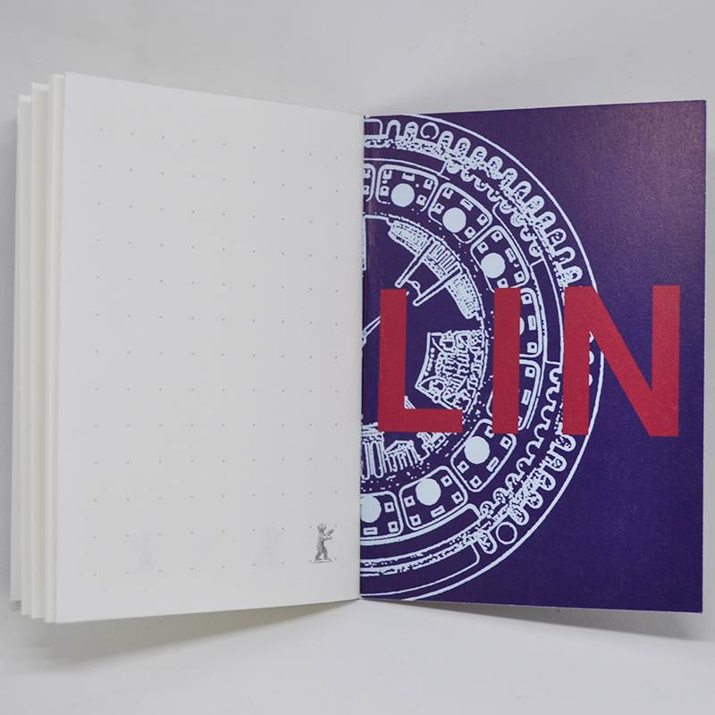 ART-DOMINO® by SABINE WELZ  Notebook with Berlin - motives
