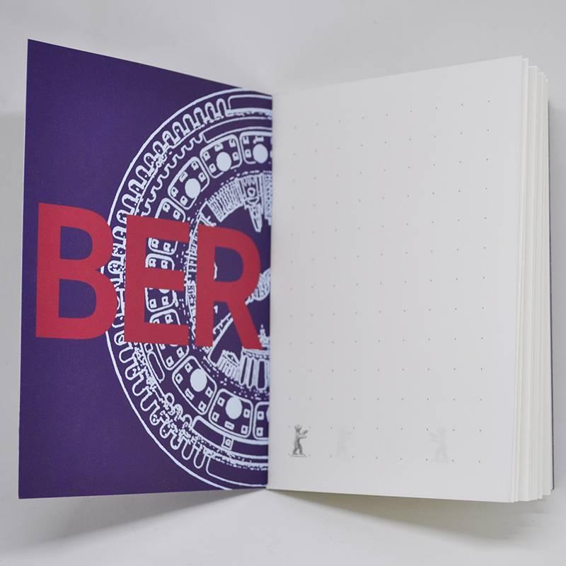 ART-DOMINO® by SABINE WELZ Notizbuch mit Berlin - Motiven