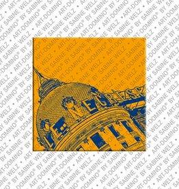 ART-DOMINO® by SABINE WELZ Magnet - Nizza - 01