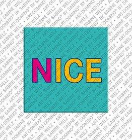ART-DOMINO® by SABINE WELZ Magnet - Nice - 00