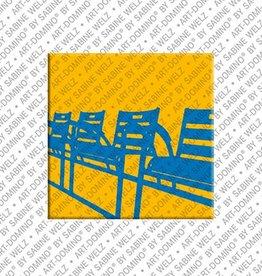 ART-DOMINO® by SABINE WELZ Magnet - Nizza - 14