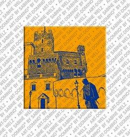 ART-DOMINO® by SABINE WELZ Magnet - Monaco - 01
