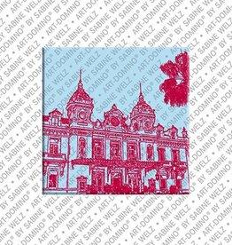 ART-DOMINO® by SABINE WELZ Magnet - Monaco - 03