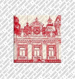 ART-DOMINO® by SABINE WELZ Magnet - Monaco - 05