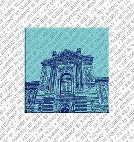 ART-DOMINO® by SABINE WELZ Magnet - Monaco - 06