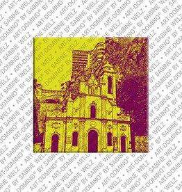 ART-DOMINO® by SABINE WELZ Magnet - Monaco - 07