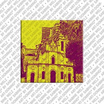 ART-DOMINO® by SABINE WELZ Monaco – Church of Saint Devote