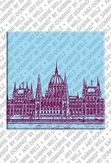ART-DOMINO® by SABINE WELZ Budapest – Parliament building - 1