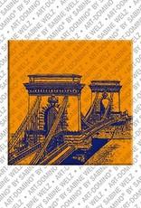 ART-DOMINO® by SABINE WELZ Budapest – Chain bridge