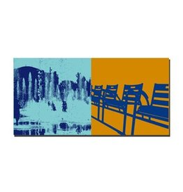 ART-DOMINO® by SABINE WELZ PICTURE ON CANVAS - NICE - 5608