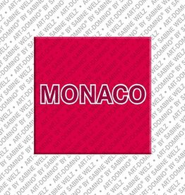 ART-DOMINO® by SABINE WELZ Magnet - Monaco - 00