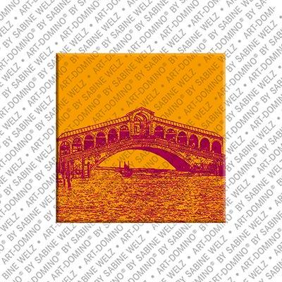 ART-DOMINO® by SABINE WELZ Venice - Rialto bridge