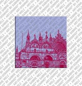ART-DOMINO® by SABINE WELZ Magnet - Venice - 05