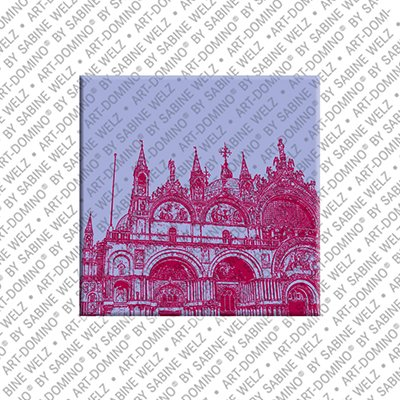 ART-DOMINO® by SABINE WELZ Venice - Basilica di San Marco