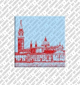 ART-DOMINO® by SABINE WELZ Magnet - Venice - 07