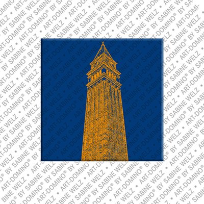 ART-DOMINO® by SABINE WELZ Venice -  Campanile / bell tower