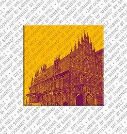 ART-DOMINO® by SABINE WELZ Magnet - Hanover - 09