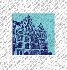 ART-DOMINO® by SABINE WELZ Magnet - Hanover - 10