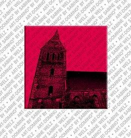 ART-DOMINO® by SABINE WELZ Magnet - Hanover - 11