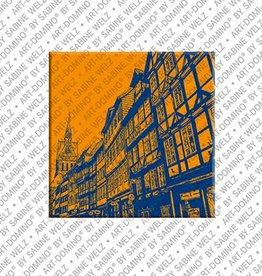 ART-DOMINO® by SABINE WELZ Magnet - Hanover - 13