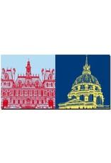 ART-DOMINO® by SABINE WELZ Paris - Rathaus + Invalidendom