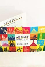 ART-DOMINO® by SABINE WELZ Geschenkgutschein im Wert von € 89