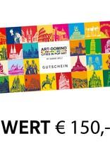 ART-DOMINO® by SABINE WELZ  Gift voucher worth € 150