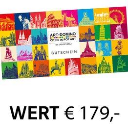 ART-DOMINO® by SABINE WELZ GIFT VOUCHER € 179