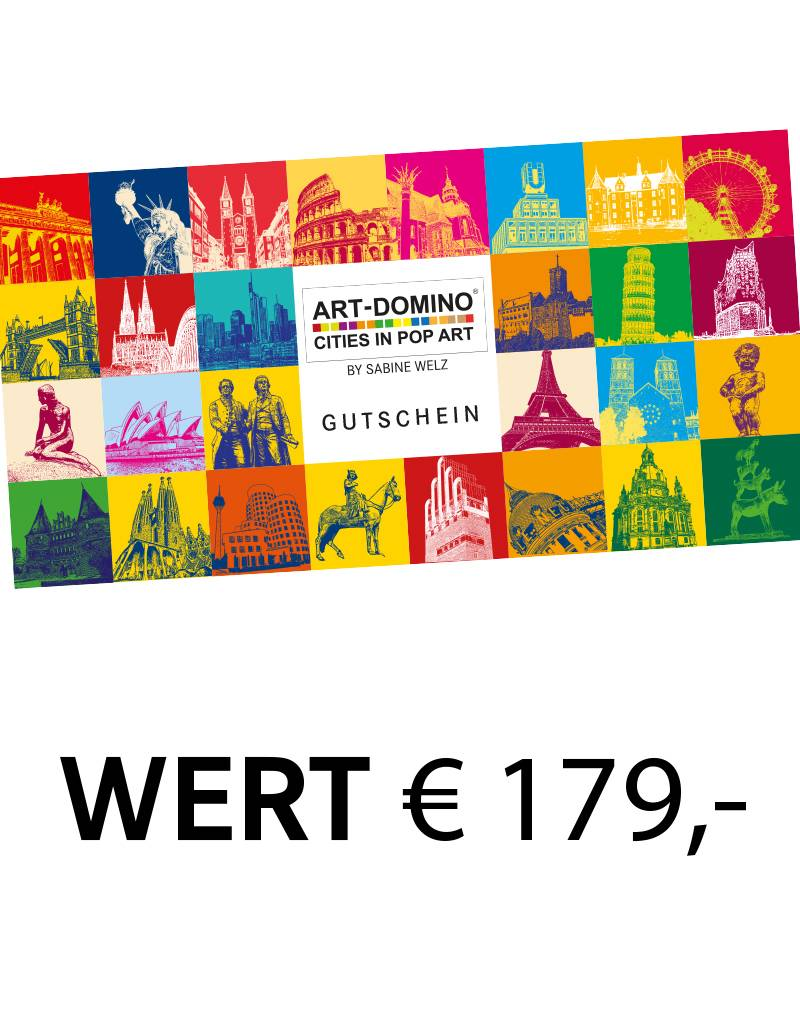 ART-DOMINO® by SABINE WELZ  Gift voucher worth € 179