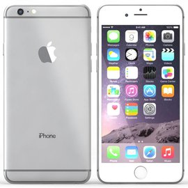 Iphone 6 Plus White Zilver 128GB Nieuw
