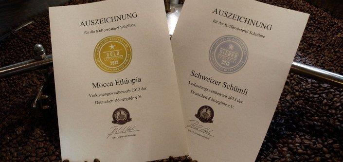 """Swiss Schümli """"DRG Silver Medal 2013 '"""