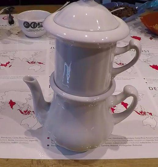 Filterkaffee aus der Karlsbader Kaffeemaschine