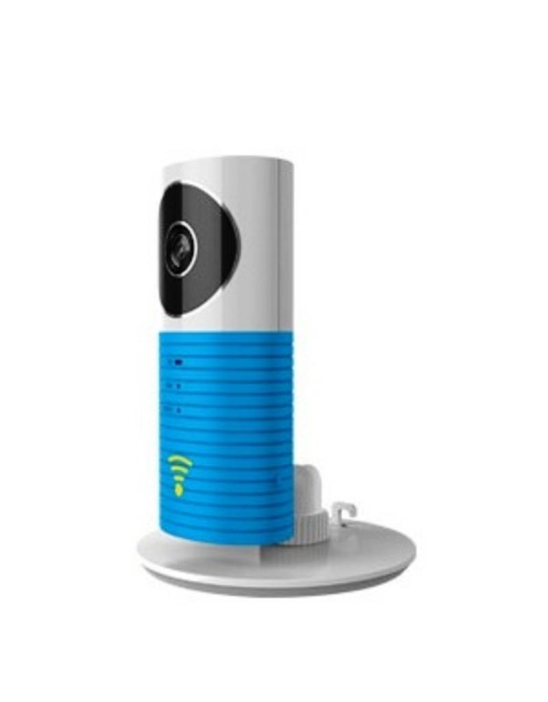 Caméra wifi Cleverdog nouveau modèle, 1280 x 720 pixels et option de stockage en nuage, bleu